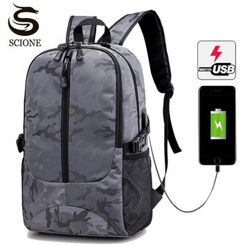 2018 Special Hot Waterproof Large 17 Inch Laptop Bag Man USB Design Backpack Travel Backpack women School Bags