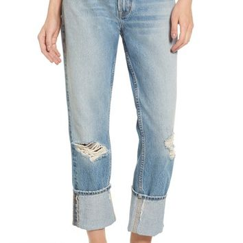 Current/Elliott The His Boyfriend Jeans (Pinyon Destroy Wash) | Nordstrom