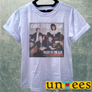 Low Price Women's Adult T-Shirt - One Direction Made in The A M design
