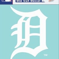 Detroit Tigers 8x8 Die Cut Window Cling