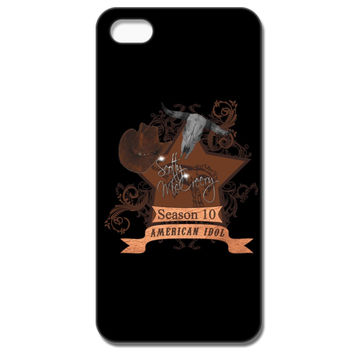 Scotty McCreery Country Style Season 10  Bull Skull IPhone 5C Case