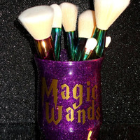 Harry Potter Magic Wands Makeup Brush Holder - YOU CUSTOMIZE!