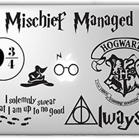 Harry Potter Decal Set - Apple Macbook Laptop Vinyl Sticker Decal