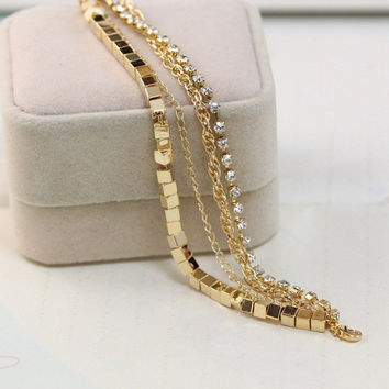 Shiny Gift Awesome Great Deal Hot Sale New Arrival Accessory Stylish Casual Chain Bracelet [6514685447]
