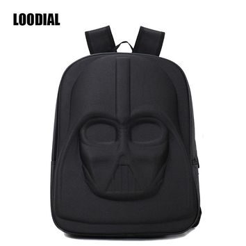 Loodial School Bags Darth Vader Backpack Star Wars Bag Teenage