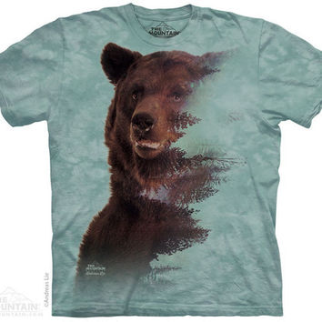Brown Bear Forest T-Shirt