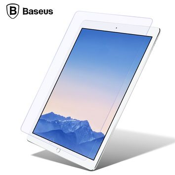 Baseus Screen Protector Tempered Glass For iPad Pro 9.7 iPad Air 2 1 Ultra Thin Toughened Glass For iPad 6 5 Front Cover Film
