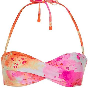 Oakley Fluid Tie Dye Swimwear Top