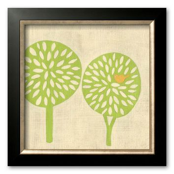 Art.com ''Best Friends - Trees'' Framed Art Print by Chariklia Zarris (Allegro Bronze)
