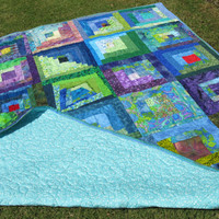 Sisterhood of the Traveling Quilt - Group Quilt - 72 x 84 inches