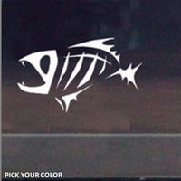Salt Life Fish Vinyl Car Decal/Sticker
