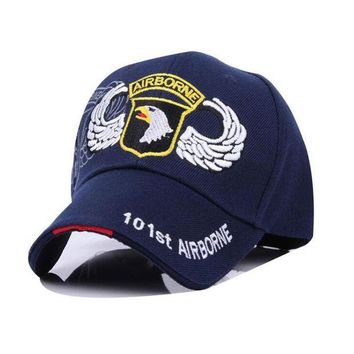DCK9M2 Fashion Jeep Eagle US Glag Baseball Cap Unisex Snapback Hat Sunbonnet Casual Sports Cap