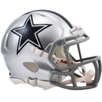 Dallas Cowboys Speed Mini Helmet - Dallas Cowboys - NFC East - NFL - Collectibles - Shop