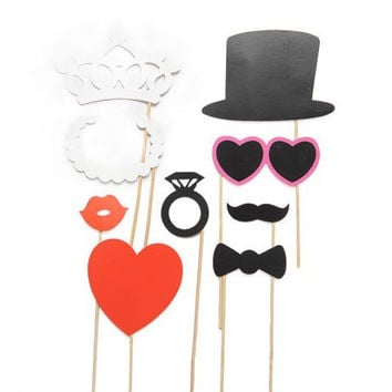 Party Supplies Moustache Innovative Photographing Hats [11496557199]