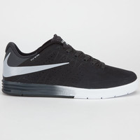 Nike Sb Paul Rodriguez Citadel Mens Shoes Black/Wolf Grey/Anthracite  In Sizes