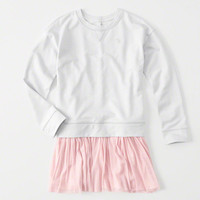 girls Sweatshirt Dress | girls clearance | Abercrombie.com