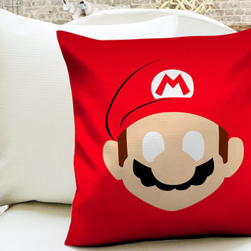 Super Mario Bros Pillow Cases