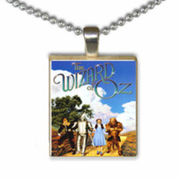 Wizard of Oz Movie Ad Scrabble Tile Pendant Necklace SALE