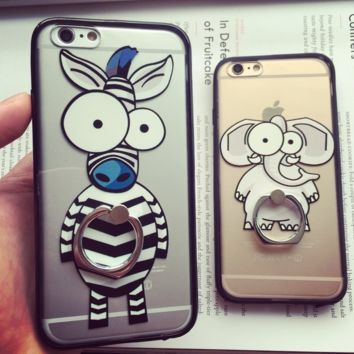 Cute Animal Case for iPhone