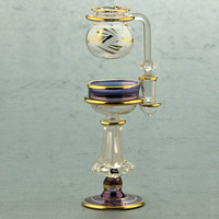 Cleopatra glass oil burners, Oil lamp