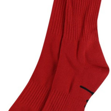 Diamond Og Script High Socks Red/Black 1 Pair