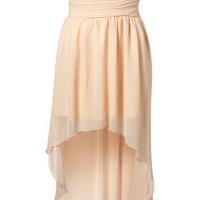 Chiffon Mullet Hem Dress by Rare**