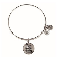 Alex and Ani St. Louis Cardinals™ Cap Logo Charm Bangle - Russian Silver
