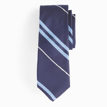 Silk tie in multistripe : Men novelty | J.Crew
