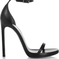 Saint Laurent - Jane leather sandals