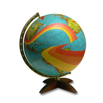 Not All Who Wander Are Lost Globe by wendygold on Etsy