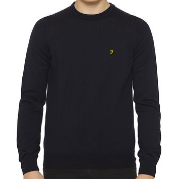 Farah The Mullen Jumper  - Navy