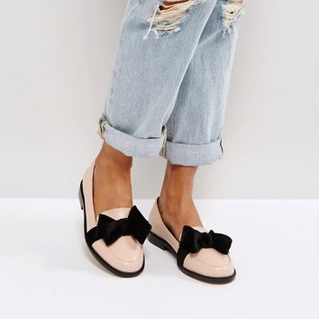 ASOS MATCHMAKER Loafer Flat Shoes at asos.com