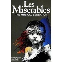 Les Miserables Poster Broadway Theater Play 11x17 Patrick A'Hearn Cindy Benson Jane Bodle Vintage Art MasterPoster Print, 11x17