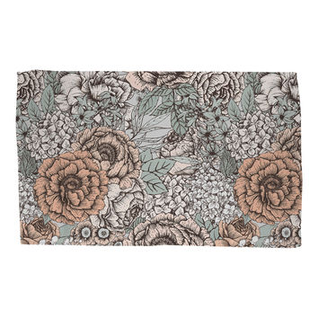 Muted Floral Rug