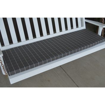 A & L Furniture Co. 6' Bench Cushion  - Ships FREE in 5-7 Business days