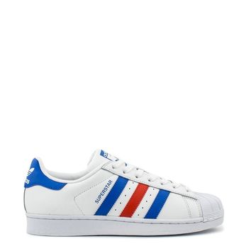 Adidas Superstar White/Red/Blue