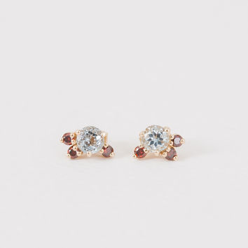 Cluster Stone Studs