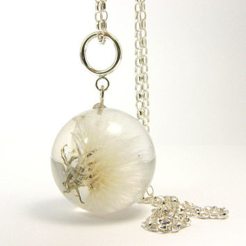 Blowball Pendant by sisicata on Etsy