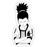 'Shikamaru thinking' Sticker by haebollago