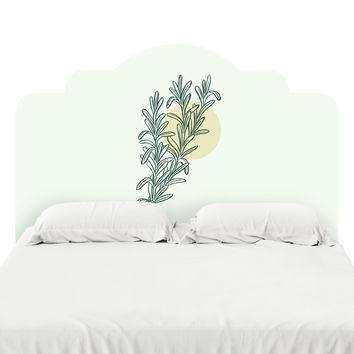 Rosemary Headboard Decal