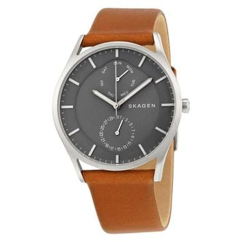 Skagen Holst Multifunction Gray Dial Mens Watch SKW6264