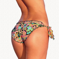Mixer Bikini Bottoms New 2016 Swimsuit  Women  Bikinis Bottom Vintage Swimwear Bow Brand brazilian Biquini Bikiny  Swim Suit