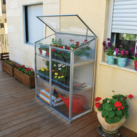 Grow Station  2 x 4 Raised Garden Bed Greenhouse