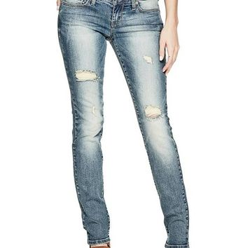 Sarah Skinny Jeans in Medium Vintage Wash at Guess