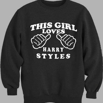 this girl loves harry styles Sweater for Mens Sweater and Womens Sweater *