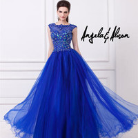 Prom Dresses 2014 - Angela and Alison Long Prom 41006 Ball Gown