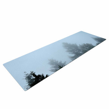 "Robin Dickinson ""Welcome to Earth"" Mist Forest Yoga Mat"