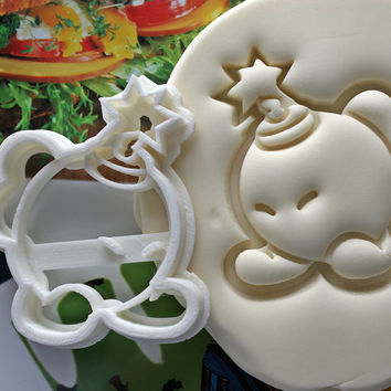 Super Mario Bob-omb Cookie Cutter / Made From Biodegradable Material / Brand New / Party Favor / Kids Birthday / Baby Shower / Cake Topper