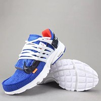 Trendsetter Off White X Nike Air Presto  Women Men Fashion Casual Sneakers Sport Shoes