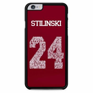 Stiles Quote Jersey Stilinski iPhone 6 Plus / 6S Plus Case